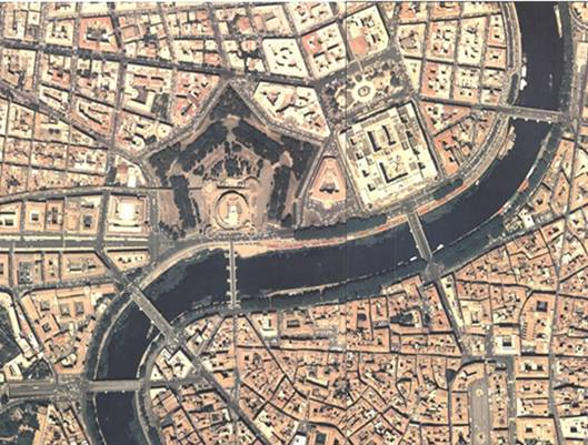 roma veduta aerea panorama