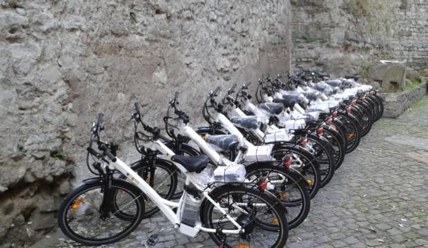 Biciclette nelle Scuderie