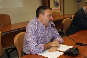 L'Assessore Gianluca Paolucci