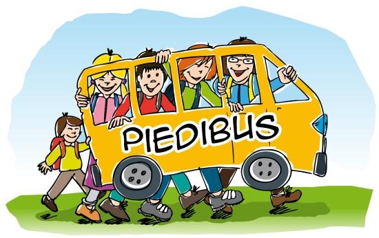 Il Piedibus è pronto a ripartite. Si cercano sei volontari che conducano e controllino i tre bus umani Per il servizio svolto riceveranno ogni giorno un buono pasto/voucher di 4 € da spendere nei supermercati del territorio