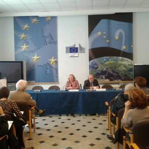 """Conferenza stampa per """"Cambiamo rotta all'Europa"""""""