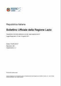 Pubblicata la legge regionale del Lazio sul Servizio Civile