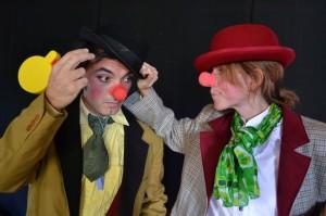 Clown Bonjour e Bonne Nuit2