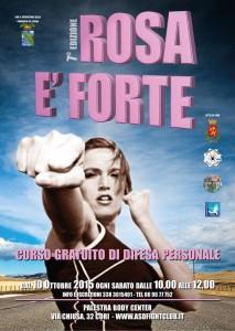 ROSA E' FORTE - LOCANDINA