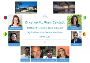 CINCINNATO FOOD CONTEST