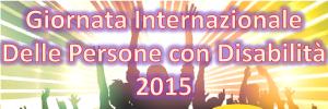 giornata internazionale disabilita - 3 dicembre 2015