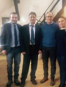 DELEGAZIONE COMUNALE CORI CON UGO RUFINO ALL'ISTITUTO ITALIANO DI CULTURA A CRACOVIA