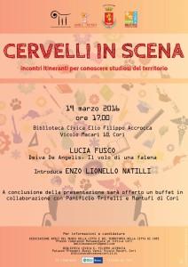 CERVELLI IN SCENA III - LOCANDINA