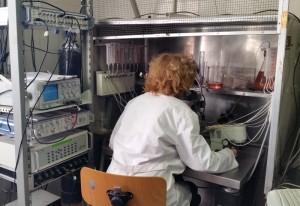 Eleonora palma in laboratorio