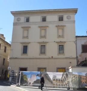 Il teatro San Marco, esterno del cantiere