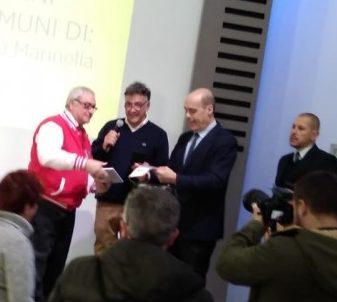 Paolo Giansanti e Nicola Zingaretti