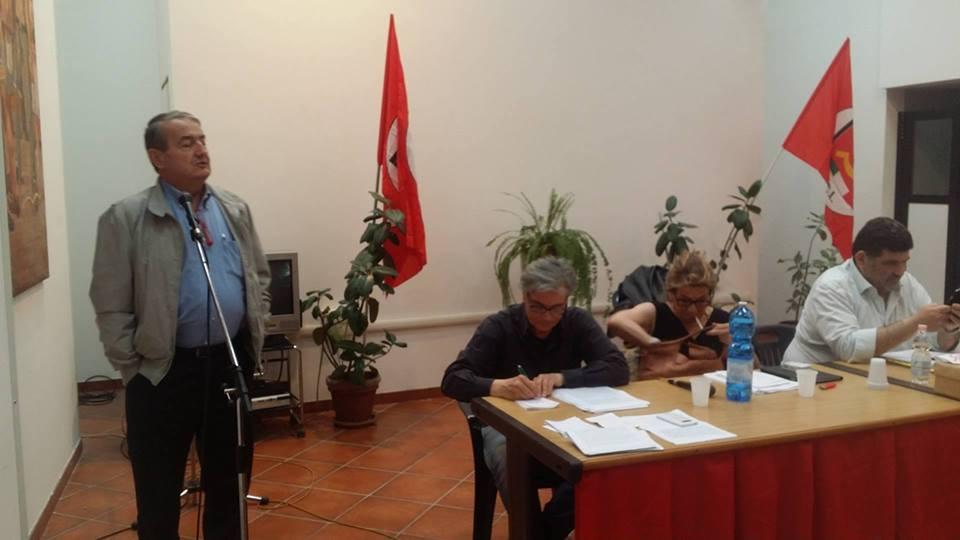 Oreste Della Posta, PCI Lazio