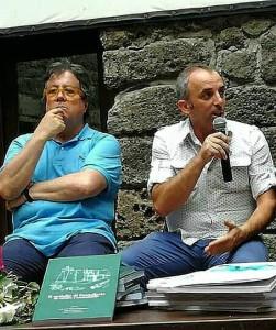 Sebastiano Tusa e Vincenzo Campo