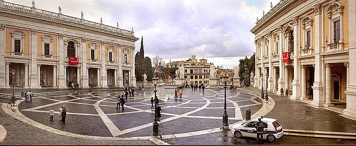 Roma Musei Capitolini, Campidoglio