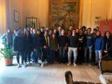 Gli studenti del Liceo Turistico Almanza di Pantelleria, ricevuti dal sindaco Giannone di Scicli