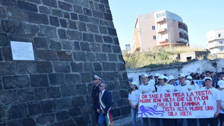 Pantelleria corteo studenti