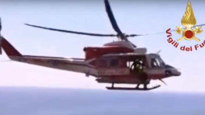 elicottero vigili del fuoco pantelleria